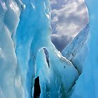 Ice Arches - Franz Josef Glacier, New Zealand by Phil McComiskey