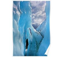 Ice Arches - Franz Josef Glacier, New Zealand Poster
