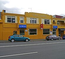 TRC Hotel, Launceston, Tasmania, Australia. by Margaret  Hyde
