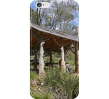 Picnic shelter, Cataract Gorge, Launceston, Tas. Australia iPhone Case/Skin