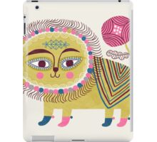 Folk Lion iPad Case/Skin