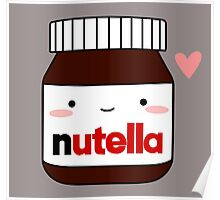 Cute Nutella jar Poster