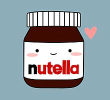 Cute Nutella jar by cafebunny
