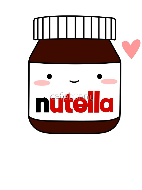 Quot Cute Nutella Jar Quot Stickers By Cafebunny Redbubble