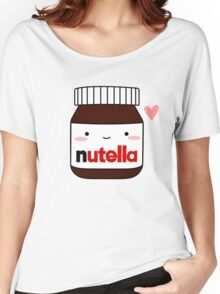 Cute Nutella jar Women's Relaxed Fit T-Shirt
