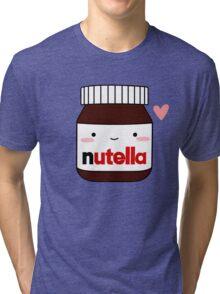 Cute Nutella jar Tri-blend T-Shirt