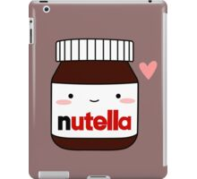 Cute Nutella jar iPad Case/Skin