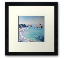 Sea Castle  Framed Print