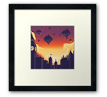 Cities in the Sky Framed Print