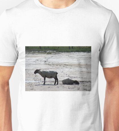 Sheep and Wadden Sea Unisex T-Shirt
