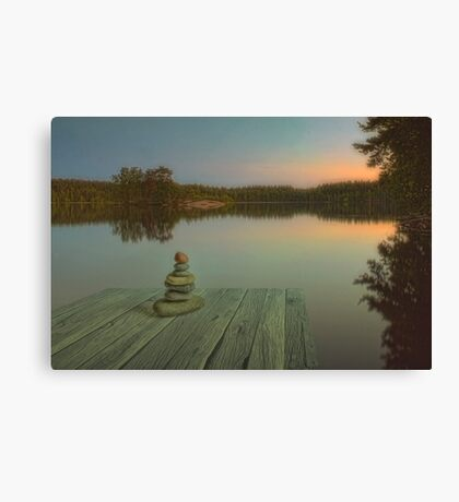 Silence of the wilderness Canvas Print
