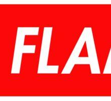 La Flame Sticker