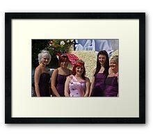 Spalding Flower Queen 2011 Framed Print