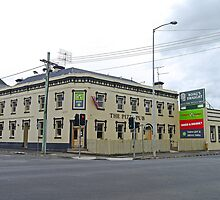 Pizza Pub, Launceston, Tasmania, Australia by Margaret  Hyde