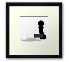 Censored Pawn Framed Print