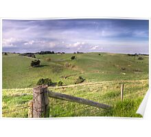 Wonthaggi Countryside • Victoria Poster
