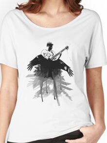 Music makes me fly... Retro - Grunge - Vintage Women's Relaxed Fit T-Shirt