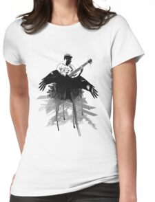 Music makes me fly... Retro - Grunge - Vintage Womens Fitted T-Shirt
