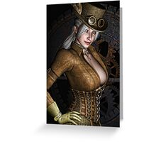 Steamy SteamPunk Greeting Card