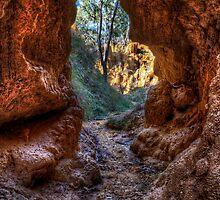 Golden Gully Cavern by Ian English