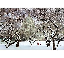 Capital Sledding Photographic Print