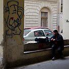 Budapest Street Scene by Zane Paxton