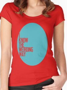 The Weirding Way Women's Fitted Scoop T-Shirt