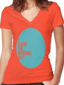 The Weirding Way Women's Fitted V-Neck T-Shirt