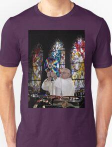 Catholic DJ Earth Pope Francis Turntable EDM Unisex T-Shirt