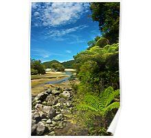 Bark Bay - Abel Tasman National Park Poster