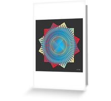 Mandala No. 34 Greeting Card