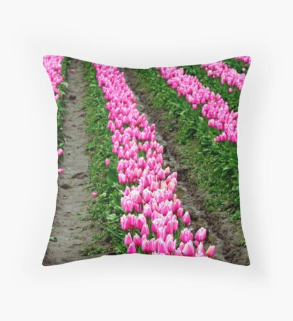 """Striped Beauty! Throw Pillow"