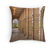 Arches - Belle Isle Casino Throw Pillow