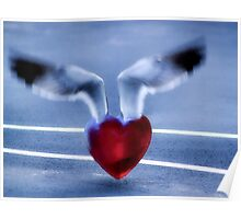 Fly Away Heart Poster