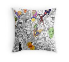 EPIC 09 Kimba Vetten Throw Pillow