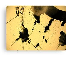 look back in anger..... Canvas Print