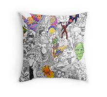 EPIC 10 Gina Baratono Throw Pillow
