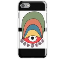 Peaceful eye iPhone Case/Skin