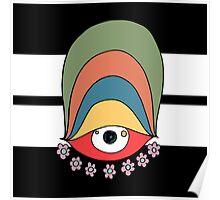 Peaceful eye Poster