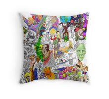 EPIC 21 Ann Morgan Throw Pillow