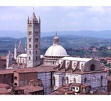 Duomo, Siena, Tuscany, Italy. Photographic Print