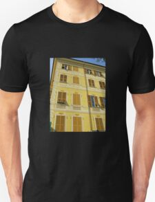 Yellow Facade - Santa Margherita Unisex T-Shirt