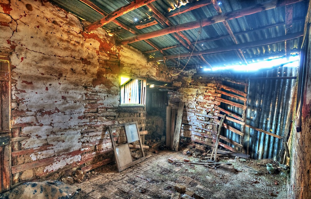 Fixer Upper - Denmans Cottage, Hill End NSW - The HDR Experience by Philip Johnson