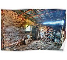 Fixer Upper - Denmans Cottage, Hill End NSW - The HDR Experience Poster