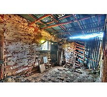 Fixer Upper - Denmans Cottage, Hill End NSW - The HDR Experience Photographic Print