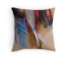 Abstract, Fancy Dancer Throw Pillow