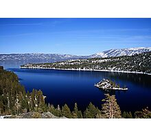 Emerald Bay ~ Lake Tahoe, CA Photographic Print