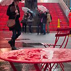 Times Square in the Rain by Darren Spidell