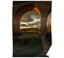 Renaissance arches Poster