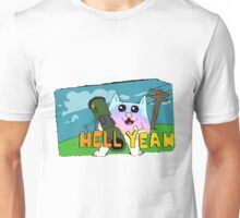 hell yeah cat by Jake Clover Unisex T-Shirt
